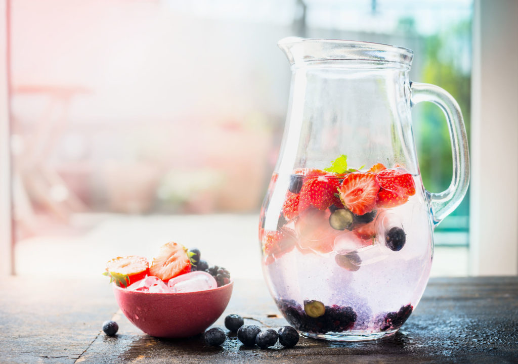 Berry-licious Spa Water