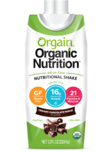 orgain is a healthy diet shake for women