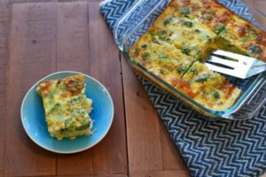 egg frittata with broccoli
